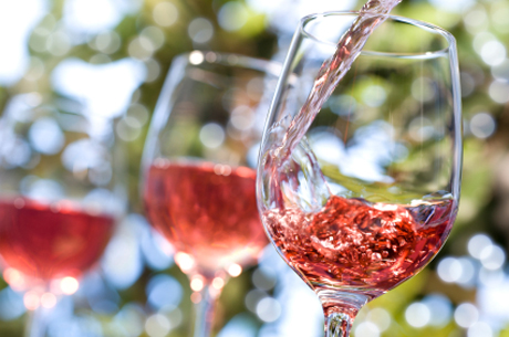 Think pink - take your summer drinking seriously with these roses wine